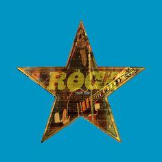 Awesome 'ROCK+STAR' design on TeePublic!