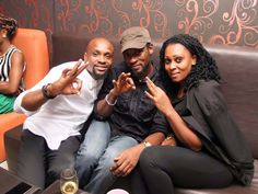 Capital FEMI had a time out with his new team in 3Six Music | NaijaBeatZone