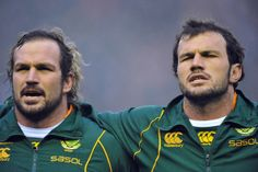 Bismarck Du Plessis and Jannie Du Plessis Photos Photos: Scotland v South Africa Beefy Men, Rugby World Cup, Rugby Players, African History, Olympic Games, Olympics, South Africa, Scotland, Football