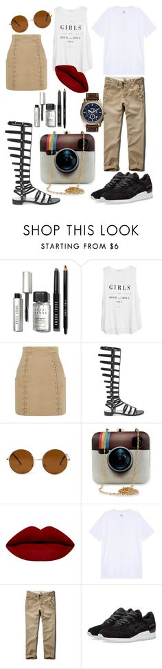 """""""Untitled #29"""" by cemlais22 on Polyvore featuring beauty, Bobbi Brown Cosmetics, MANGO, Balmain, Stuart Weitzman, Forever 21, rag & bone, Abercrombie & Fitch, Asics and FOSSIL"""