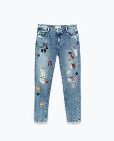 Image 6 of GRAPHICS TROUSERS from Zara