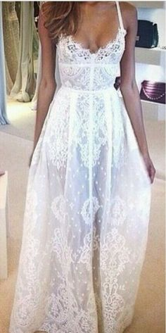 White Prom Dresses,Long Prom Gown,Lace Prom Gowns,Simple Bridal Dress,Lace Evening Dress,Elegant Formal Dress,Vintage Prom Gowns,Modest Evening Gown