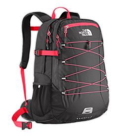 The North FaceBackpack with monogram the same color of the pink.