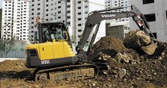 Used Equipments 2012 Volvo EC55C Excavator 5t~8t Excavator for sale from S.Korea IE482950 Global Auto Trader's Marketplace - autowini.com [English]
