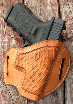 GIBSON GUNLEATHER GLOCK 19 23 32 NATURAL CROSSCUT | Flickr - Photo Sharing!
