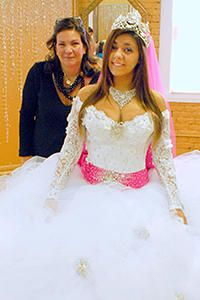 Gypsy wedding dresses are crazy gorgeous and enormous. Sondra Celli, gypsy dressmaker extraordinaire, gives an exclusive interview about the gowns.
