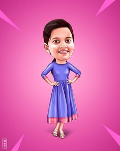 Photo To Cartoon, Girl Cartoon, Cartoon Art, Onam Pictures, Actor Bio, Wedding Caricature, Girls Characters, Cartoon Characters, Funny Reaction Pictures