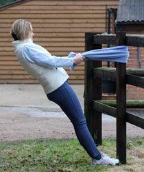 Exercises for horseback riders