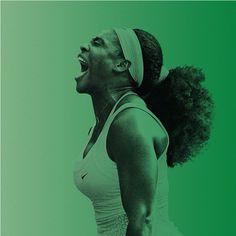 Serena Williams - Wimbledon, 21 Grand Slam 1st place finishes.  Damn.