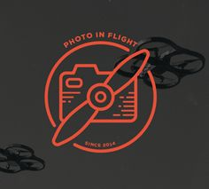 Logo for Photo in Flight by Kevin Kurtovich