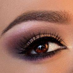 Soft Brown Smokey Eye