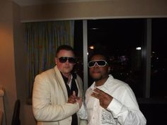 J Rag & Kwei The Entertainer in Atlantic City Dru Hill, Music Page, Atlantic City, Mens Sunglasses, Entertaining, Mens Fashion, Concert, Palace, Clothes