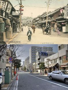 old photos of japan | Japanese architecture from past to present (19 pics)