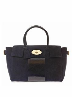 Bayswater Buckle suede tote  324725f34bed3