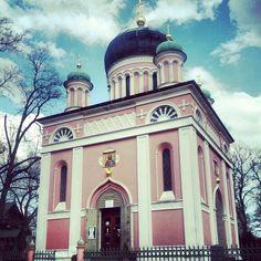 Heilige-AIexander-Nevskij-Gedächtniskirche, Russisch-orthodoxe Kirche  ---  The russian church