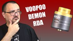 VooPoo Demon RDA review is now up at http://www.youtube.com/vapingwithvic