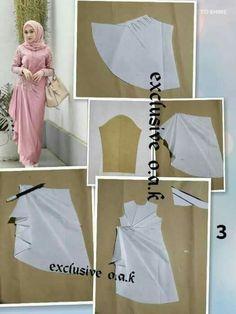 Dress Sewing Patterns, Blouse Patterns, Clothing Patterns, Gaun Dress, Dress Brokat, Batik Fashion, Fashion Sewing, Fashion Desinger, Model Kebaya