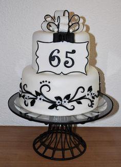 My Mom's 65th Birthday Cake