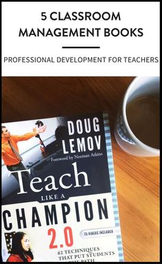 Classroom management books for middle school teachers to ensure your students are learning and on-task. |maneuveringthemiddle.com via @maneveringthem