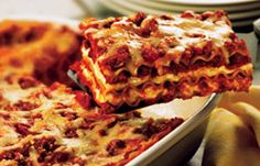 Classic Lasagne Recipe. So easy. I don't understand why some would settle for Stouffer's frozen lasagne.