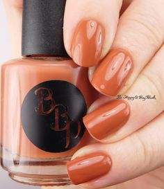 Bad Bitch Polish Cinnamon   Be Happy And Buy Polish https://behappyandbuypolish.com/2017/01/04/bad-bitch-polish-brunch-bitch-nail-polish-collection-swatches-review-partial/