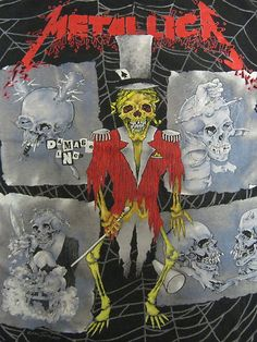 Vintage Tshirt - Metallica - Ringmaster 1992 Tour - Pushead XL RARE #vintage #tshirts #metallica | $79