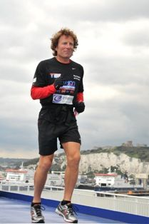 Need inspiration? This guy is running 100 marathons in 100 days!
