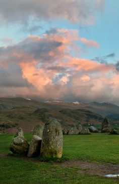 The incredible light at Castlerigg Stone circle, England