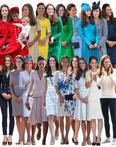 Kate Middleton - Australia, New Zealand Tour Looks