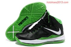 Lebron James 10 Dunkman Black Green 541100 300