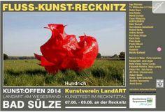 Kunst Offen 2014 | Kunst Offen – Fluss – Kunst -Recknitz – Hundrich
