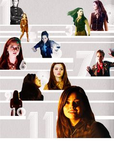 """...Because it's impossible and you're my impossible girl.  How many times have you saved me, Clara?  Just this once, just for the hell of it let me save you.""  Jenna-Louise Coleman. Doctor Who."