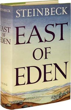"""""""East of Eden""""  John Steinbeck. One of my favourite American authors. Wrote beautiful, lyrical descriptions. A real classic I will always keep in my bookcase."""