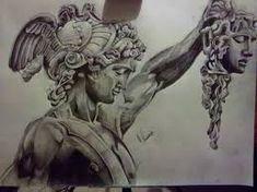Perseus Tattoo Chest