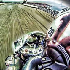 Cruisin!   @thephotographeradam flying down the straight away at the track on his s1000rr   hashtag #sportbikemods on your pics for a chance at a feature  #sportbikemods #bmw #s1000rr #trackday #trackbike #instabike #picoftheday #instagood