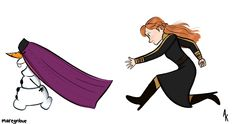 Anna Frozen, Disney Frozen, Disney And Dreamworks, Aurora Sleeping Beauty, Funny Disney, Olaf, Disney Princess, Disney Characters, Awesome