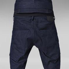 G-Star RAW   Men   Jeans   A-crotch Tapered , Lt Mazarine Denim