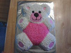 Teddy bear cake for baby shower