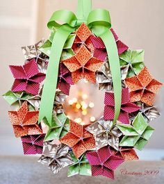Maybe my origam-ily gifted son could make this for me.