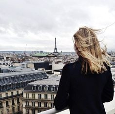 This looks like my first view of the Eiffel Tower and Paris rooftops, glimpsed from the terrace of the department store Galeries Lafayette. Snowdonia, Belle Villa, Adventure Is Out There, Travel Goals, Adventure Awaits, Oh The Places You'll Go, Cities, Wanderlust, Travel Photography