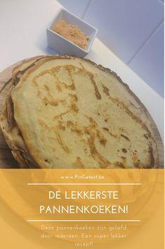 Dé lekkerste pannenkoeken recept Beignets, Breakfast Recipes, Dessert Recipes, Pancakes And Waffles, Food Blogs, Food Inspiration, Kids Meals, Bakery, Deserts