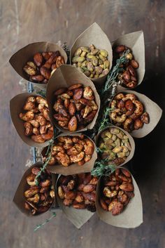 Balsamic Spiced Mixed Nuts- Indian Spices