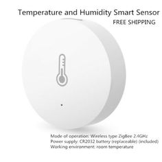 Aqara Smart Temperature Humidity Sensor ZigBee Wifi Wireless Work With Xiaomi WE Iot Smart Home, Humidity Sensor, Temperature And Humidity, App Control, Wifi, Ebay