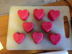 Little heart cakes