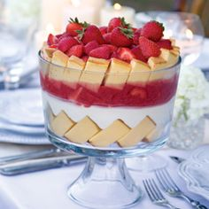 Simple Custard    A straightforward and tasty recipe, this custard is ideal to use in a trifle or pie.