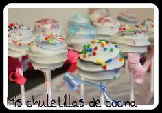 Mis Chuletillas de Cocina: Cake Pops de Oreos