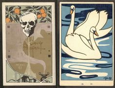 Zen Nouveau: New Year's Greetings from Early 20th-Century Japan - Neatorama