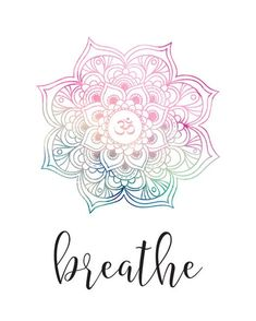 Mandala Wall Art Print Yoga Quote Breathe Calligraphy Printable Poster Home Decor Or Gift Waterc Mandala Wall Art Print Yoga Quote Breathe Calligraphy Printable Poster Home Decor Or Gift Waterc Breathe Watercolor Mandala Wall Art Print With Calligraphy Mandala Art, Mandala Quotes, Watercolor Mandala, Mandala Tattoo, Watercolor Print, Calligraphy Watercolor, Breathe, Brainstorm, Reiki Frases