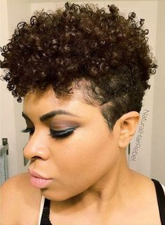 tapered haircut for natural hair - Google Search