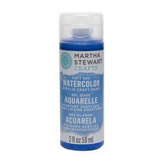 Martha Stewart Crafts ® 2oz Watercolor Craft Paint - Indigo